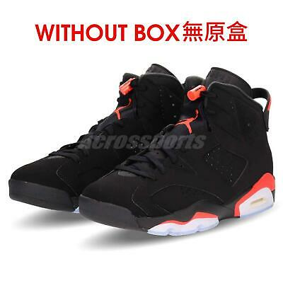 pretty nice adc0c 55fcd Nike Air Jordan 6 Retro VI NWOB Without Box Infrared Black Men Shoes  384664-060
