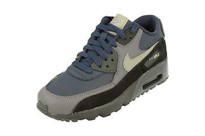 competitive price 70deb 310fd Juniors Childrens Nike Air Max 90 Leather Trainers sneakers shoes size uk 6