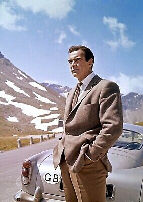 Sean Connery as James Bond 007 photograph from the film Goldfinger