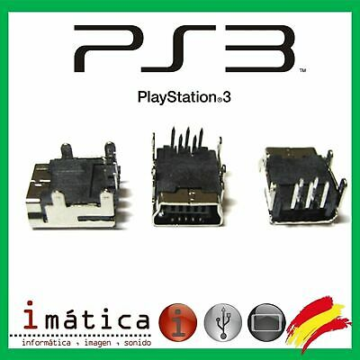 Conector De Carga Usb Sony Play Station 3 Mando Controller Game Ps3 Corriente