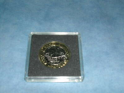 Uncirculated Two Pound Coins ( Cased )2018 (  Isle of Man 40 years )
