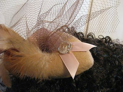 Lady's Fascinator Hat Make your own one a kind W C Hyde Fascinator Hat Starter