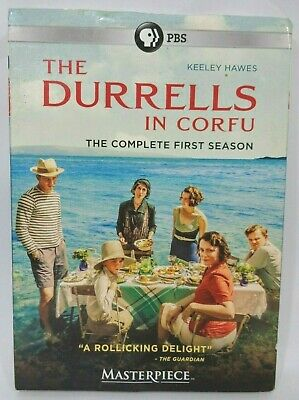 The Durrells in Corfu: The Complete 1st Season PBS TV Series (DVD, 2016)