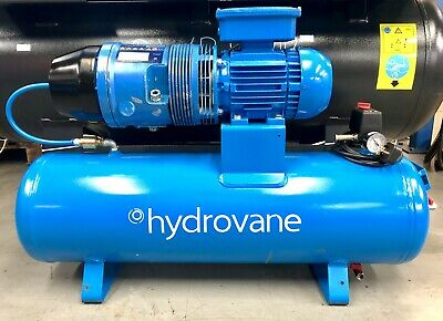 Hydrovane HV01 Receiver Mounted Rotary Vane Compressor 1.1Kw! Single Phase!