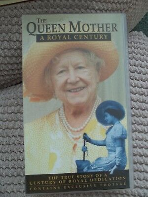 The Queen Mother - A Royal Century (VHS, 2000)