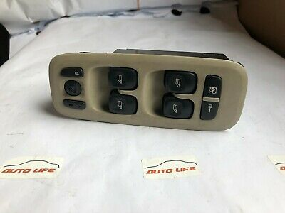 VOLVO S60 S80 V70 FRONT WINDOW CONTROL SWITCH 30658146,09193383