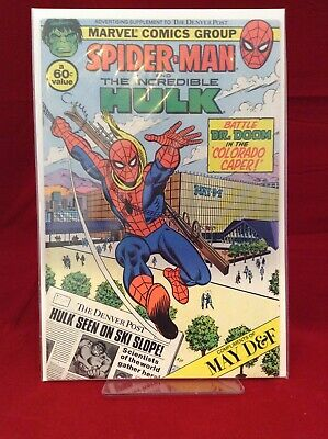 Spider-Man and The Incredible Hulk Denver Post Advertising Supplement