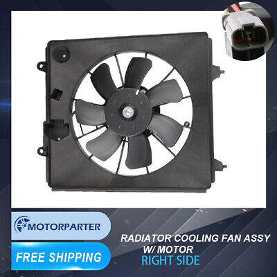 Radiator Cooling Fan Motor Fan Shroud 25380 1D300 For 07-11 Rondo 2.4L 2.7L