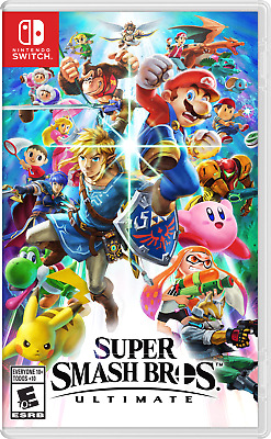 Super Smash Bros Ultimate Nintendo Switch - Region Free - Brand New