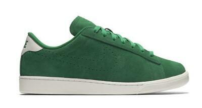 outlet store c3a0b cd843 Mens NIKE COURT TENNIS CLASSIC CS Suede Green Trainers 829351 300