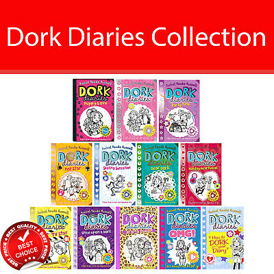 Dork Diaries By Rachel Renee Russell Books Collection Pack set Puppy Love NEW