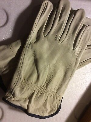Leather Work Gloves  (Size Xl)