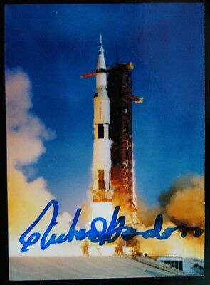 Richard Gordon Nasa Astronaut Signed Photograph Picture Psa Dna Guarantee Auto