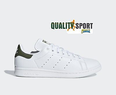 Militaire Blanc Chaussures Baskets Adidas Vert B41477 Sportif Smith Homme Stan IYE2WD9H