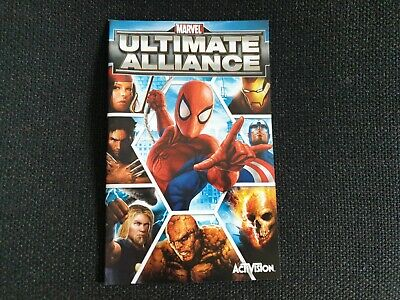 Marvel: Ultimate Alliance, Sony Playstation 2 Game Manual, Trusted Shop
