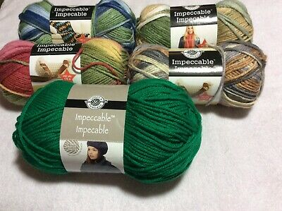 5 Assorted Loops & Threads Impeccable Yarns CLEARANCE $ 2.00 A Skein