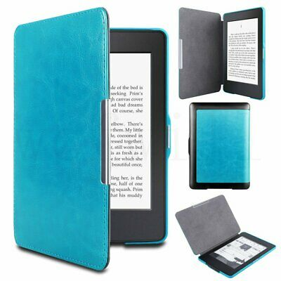 Flip Slim Magnetic Leather Smart Case Covers for Amazon Kindle Paperwhite 1/2/3
