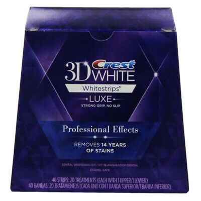 CN_ Crest3D proficient Effects Teeth Whitening White Strips 20 Strips =10 Pouc