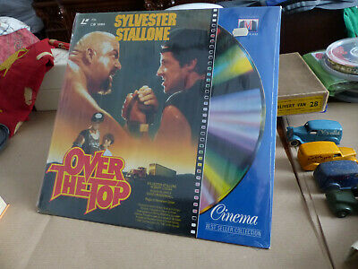 """LASER DISC """"Over the top""""-Mint condition-UNOPENED-Sylvester Stallone-Multigram"""