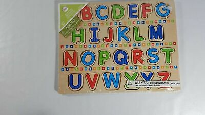 wooden circo lift and look abcs puzzle new sealed