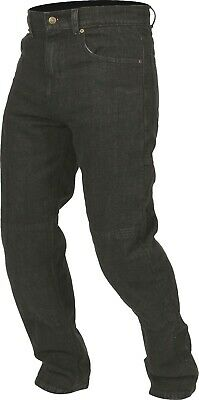 Weise Boston Jeans Men's Black Denim Armoured Motorcycle Jeans NEW RRP £99.99!!