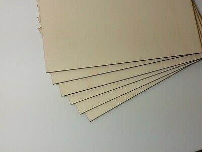 Birch Plywood A4 3mm thick  FSC, Laser, Laserply craft, Pyrography Fast delivery