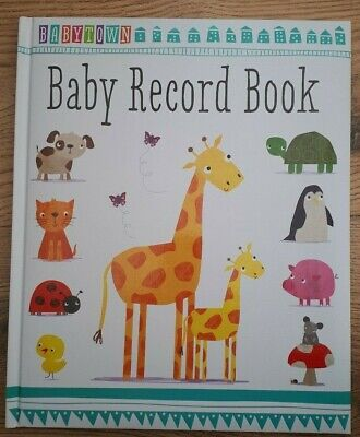 Personalised Baby Record book new baby gift,baby shower present, new mum memory