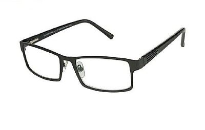 90197a04f20 +1.00 Foster Grant Multi Focus Advanced Readers Sawyer Black Reading Glasses