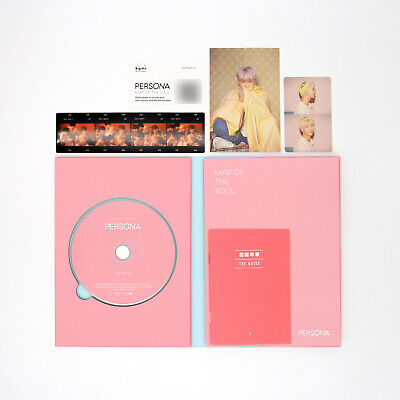 [BTS]6th mini Album-MAP OF THE SOUL:PERSONA/Boy with Luv/Ver. 1/Album+RM pc