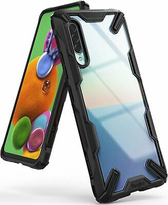 For Samsung Galaxy A70 A50 A30 A20 Ringke [FUSION-X] Clear Shockproof Cover Case