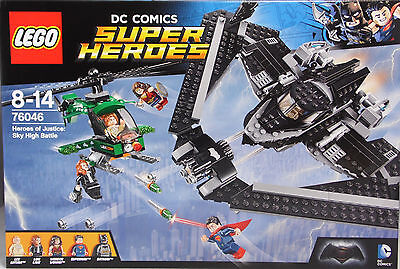 Lego DC Super Heroes 76046 Heroes of Justice Sky High Battle Duell in Luft NEU