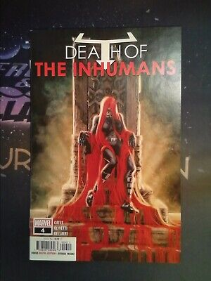 Death of the Inhumans #4 Marvel Comics VF/NM 9.0 (CB5569)