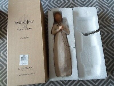 DEMDACO WILLOW TREE Figurine GRATEFUL collectable  Susan Lordi NEW UNUSED