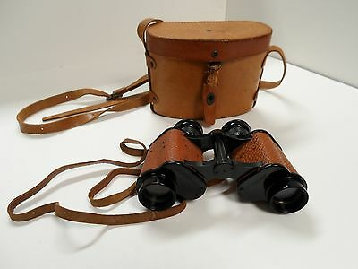Wwi Us Navy Stereo Binoculars 6 X 30 Crown Optical Co Rochester N.y. Usa Exclnt