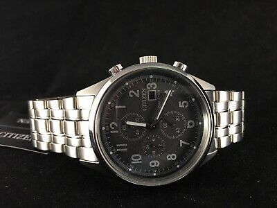 Citizen Eco-Drive Chandler Chronograph Mens Watch  - CA0620-59H  MSRP: $350.00