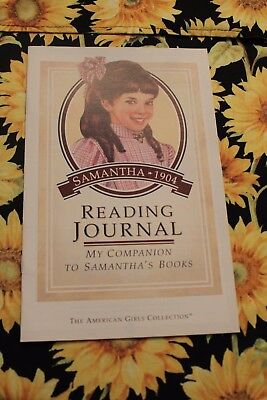 ACTIVITIES FOR 5 BOOKS PLEASANT COMPANY SAMANTHA READING JOURNAL NEW