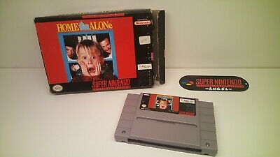 Home alone ntsc Box And Cartridge Only. snes super nintendo