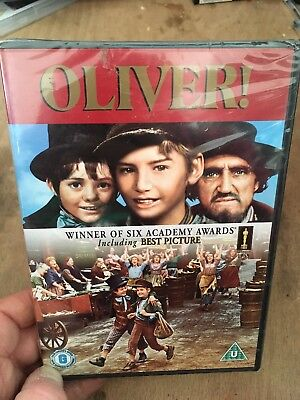 Oliver! 1968 Musical Mark Lester Ron Moody(R2 DVD)New+Sealed Carol Reed Oscars