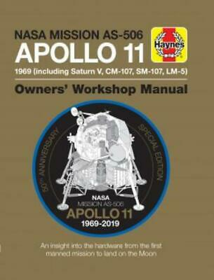 Haynes Apollo 11 Manual - 50th Anniversary Edition Space Moon Launch New Book