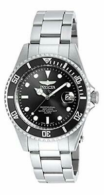 Invicta Men's 8932OB Pro Diver Analog Quartz Silver; Dial color - Black Stainles