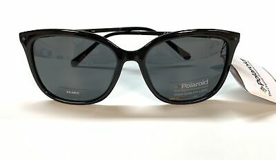 365f0b663e3e Polaroid PLD 4043 S CVSY2 Sunglasses Black Frame Grey Polarized Lens 57mm