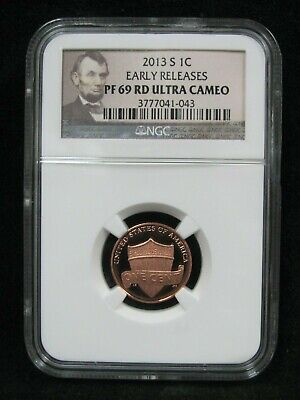 2013-S Lincoln Shield Cent - NGC PF 69 Rd Ultra Cameo Early Releases