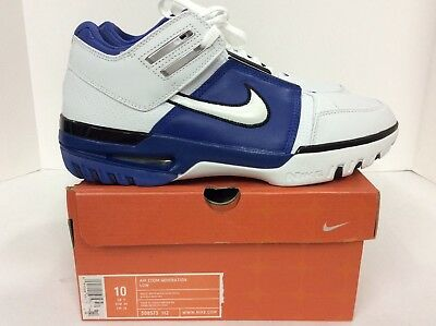 9d9d3db04 Nike Mens Air Zoom Generation Low size 10 LeBron James Style  308573-112
