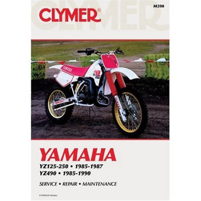 Clymer Workshop Manual Yamaha YZ125 To YZ250 YZ490 1985-1990 Service Repair