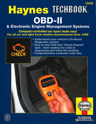 OBD-II Engine Management Systems EFI New Haynes Workshop Manual Service Repair