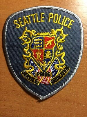 PATCH POLICE SEATTLE - WASHINGTON WA state