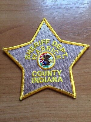 WARRICK COUNTY INDIANA Sheriff Department Police Patch In