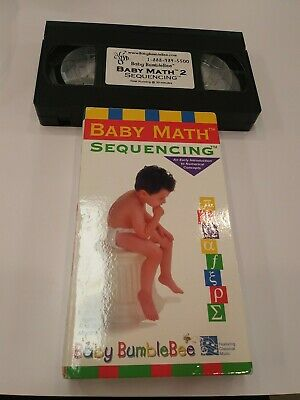 Baby Math Sequencing VHS by Baby Bumblebee Early Learning