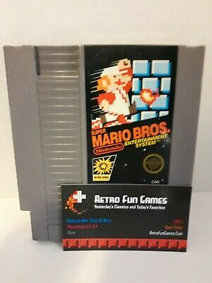 Super Mario Bros Nes Nintendo Game Lot (Origional, Authentic, Free Shipping)