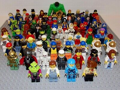 LEGO® Minifigs from City, Super Heroes, Town and in-between 1995–2017 You Select